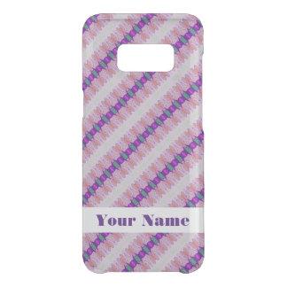 Pretty Pink Purple Pattern Design Get Uncommon Samsung Galaxy S8 Case