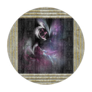 Pretty Pink Rose Fractal Boards