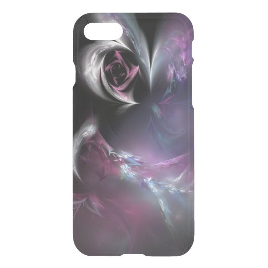 Pretty Pink Rose Fractal iPhone 7 Case