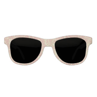 Pretty Pink Rose Pattern Sunglasses