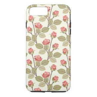 Pretty Pink Rosebuds iPhone 7 Plus Case