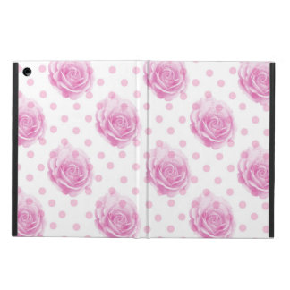 Pretty pink roses cover for iPad air
