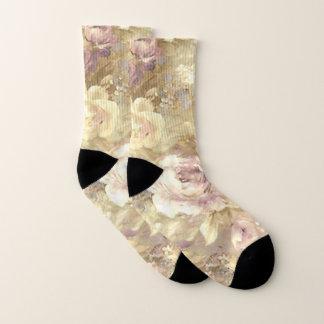 Pretty Pink Roses Socks 1