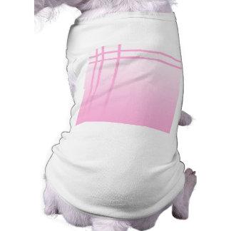Pretty Pink. Simple Elegant Design. Doggie Tshirt
