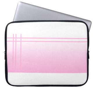 Pretty Pink. Simple Elegant Design. Laptop Sleeve