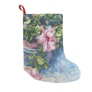 Pretty Pink Small Christmas Stocking