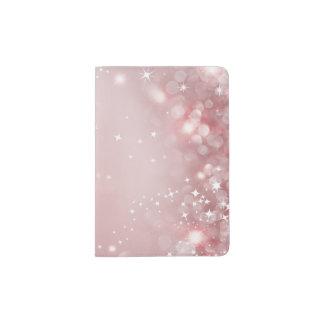 Pretty Pink Sparkle Passport Holder