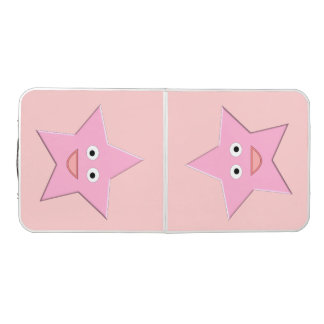 Pretty Pink Star Pong Table
