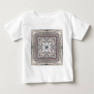 Pretty Pink Tinged Aztec Inspired Pattern Baby T-Shirt