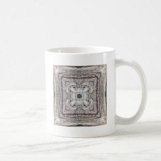 Pretty Pink Tinged Aztec Inspired Pattern Coffee Mug