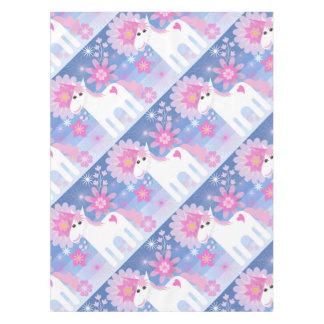 Pretty Pink Unicorn Tablecloth