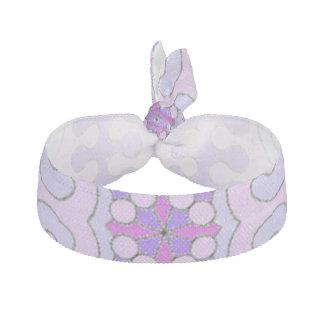 Pretty Pink Violet Hair Tie