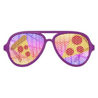 Pretty Pizza Aviator Sunglasses