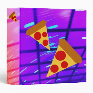 Pretty Pizza Binder