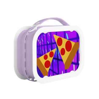 Pretty Pizza Lunch Box