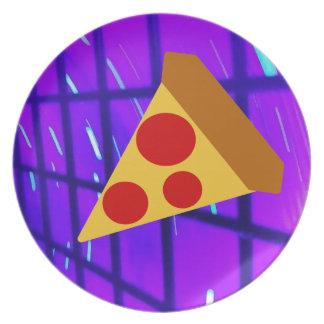 Pretty Pizza Plate
