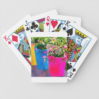 Pretty Plant Pots Bicycle Playing Cards
