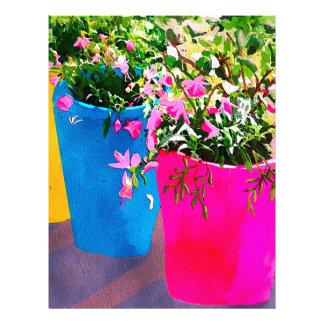 Pretty Plant Pots Letterhead