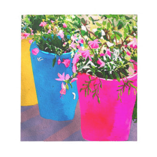 Pretty Plant Pots Notepad