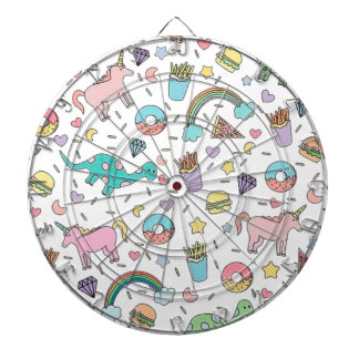 Pretty Please With Sprinkles On Top Dartboard