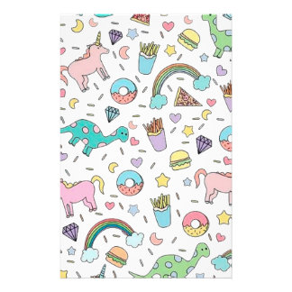 Pretty Please With Sprinkles On Top Stationery Paper