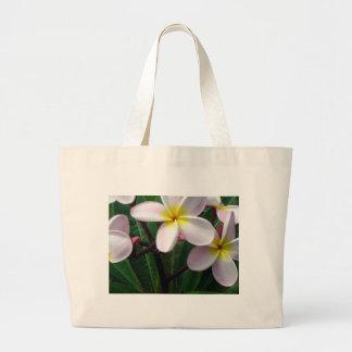 Pretty Plumeria Flowers Tote Bag