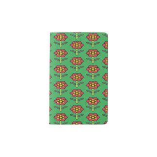 Pretty Poinsettia Pocket Moleskine Notebook