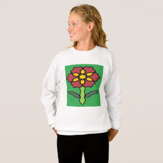 Pretty Poinsettia Sweatshirt