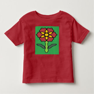 Pretty Poinsettia Toddler T-shirt