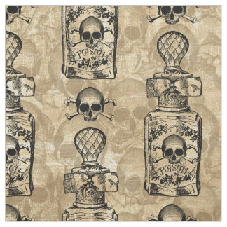 Pretty Poison Bottle Fabric