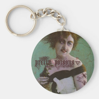 Pretty Poison Keychain