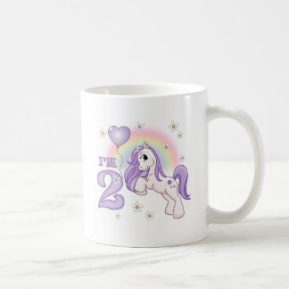 Pretty Pony 2nd Birthday Coffee Mug