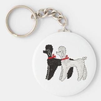 Pretty Poodles Keychain