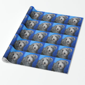 'Pretty Poppy' - Lurcher girl Wrapping Paper