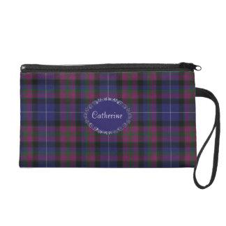 Pretty Pride of Scotland Tartan Plaid Wristlet