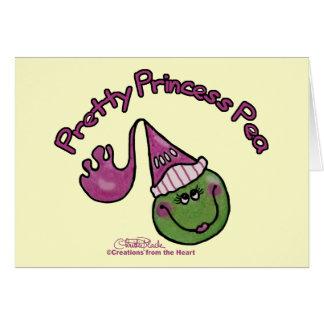 Pretty Princess Pea Card