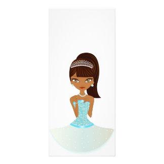 Pretty Princess Rack Card Template