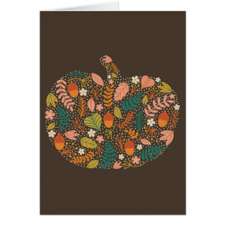 Pretty Pumpkin Card