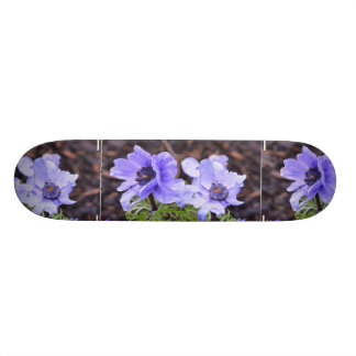 Pretty Purple Anemone Skateboard Decks