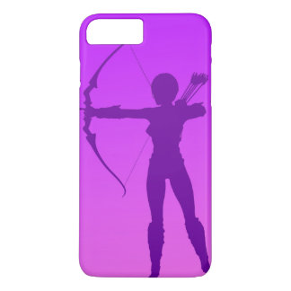 Pretty Purple Girl Archer iPhone 7 Plus Case