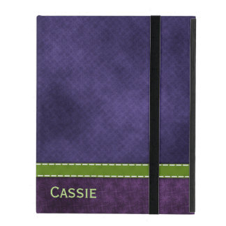 Pretty Purple iPad Folio Case