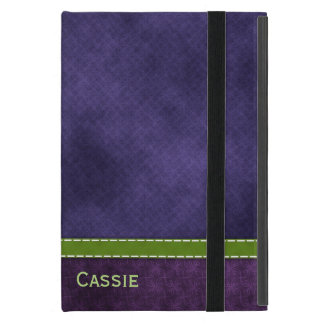 Pretty Purple iPad Mini Folio Case