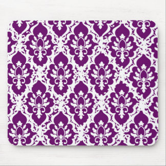 Pretty Purple Lace Mouse Pad