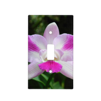 Pretty Purple Orchid Light Switch Cover