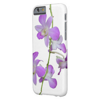 Pretty Purple Orchids Barely There iPhone 6 Case