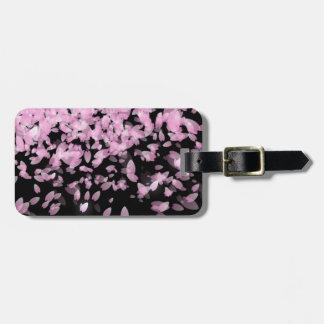 Pretty Purple Petals Luggage Tag