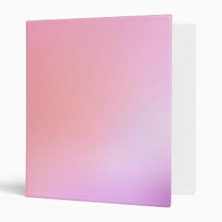 Pretty Purples Vinyl Binder