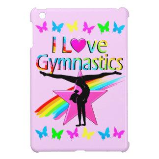 PRETTY RAINBOW I LOVE GYMNASTICS DESIGN iPad MINI COVER