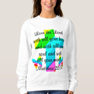 PRETTY RAINBOW MATTHEW 22:37 TEES AND APPAREL