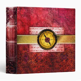 Pretty Red Ancient Tome Scrapbook Binder